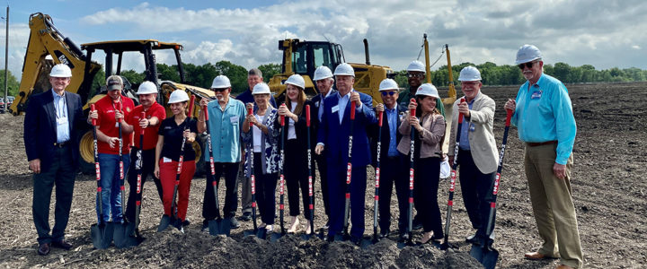 Groundbreaking Takes Place For Massive H-E-B-Anchored Manvel Town Center